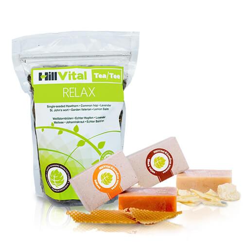 hillvital-produkty-relaxacni-balicek-medove-mydlo-bambucke-maslo-caj-relax